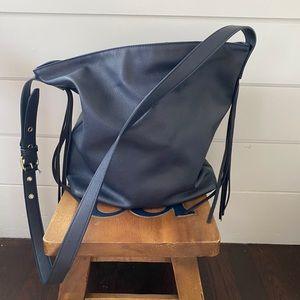 Gap navy tassel crossbody bag purse